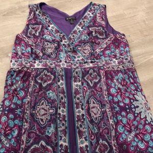 💜 International Concepts~~Sleeveless Dress 💜